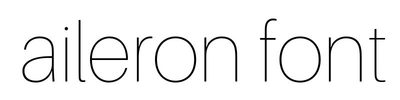 aileron Font generator, free text conversion online, no watermark