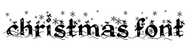 christmas Font generator, free text conversion online, no watermark, works for both Windows and Mac.