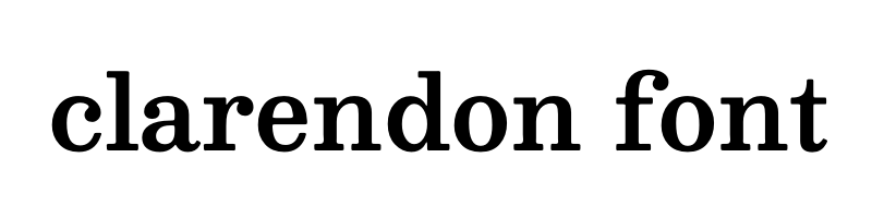 clarendon Font generator, free text t generation online, free text conversion online, no watermark, works for both Windows and Mac.