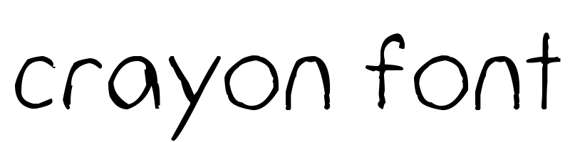 crayon font generator, free text conversion online, no watermark, works for both Windows and Mac.