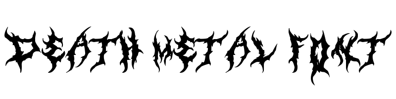 death metal Font generator, free text t generation online, free text conversion online, no watermark, works for both Windows and Mac.