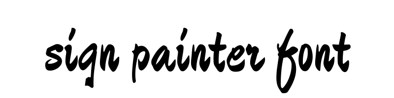sign painter font generator, free text conversion online, no watermark, works for both Windows and Mac.