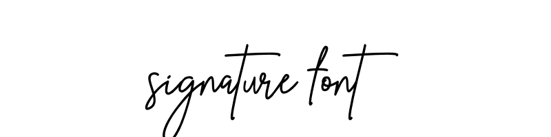 signature Font generator, free text conversion online, no watermark, works for both Windows and Mac.