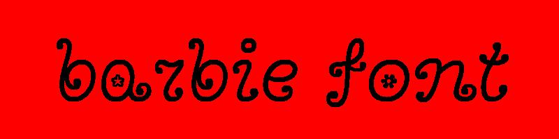 線上芭比娃娃字體轉換器,快速將英文字轉換成英文芭比娃娃字體 ,系統支援WIN+MAC蘋果系統