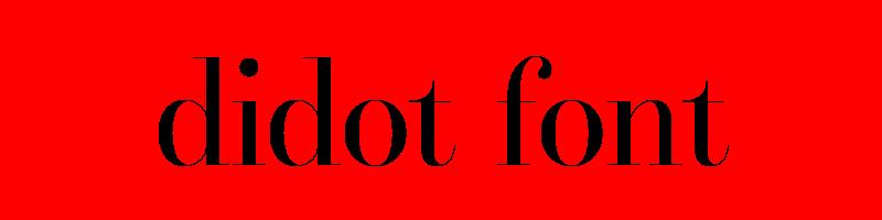 線上didot字體轉換器,快速將英文字轉換成英文didot字體 ,系統支援WIN+MAC蘋果系統