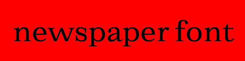 線上報紙字體轉換器,快速將英文字轉換成英文報紙字體 ,系統支援WIN+MAC蘋果系統