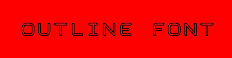 線上輪廓字體轉換器,快速將英文字轉換成英文輪廓字體 ,系統支援WIN+MAC蘋果系統