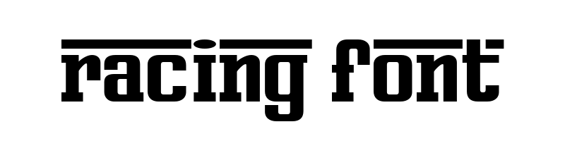 線上賽車字體轉換器,快速將英文字轉換成英文賽車字體 ,系統支援WIN+MAC蘋果系統