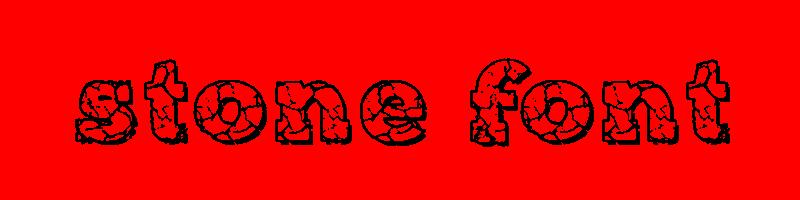 線上石頭字體轉換器,快速將英文字轉換成英文石頭字體 ,系統支援WIN+MAC蘋果系統
