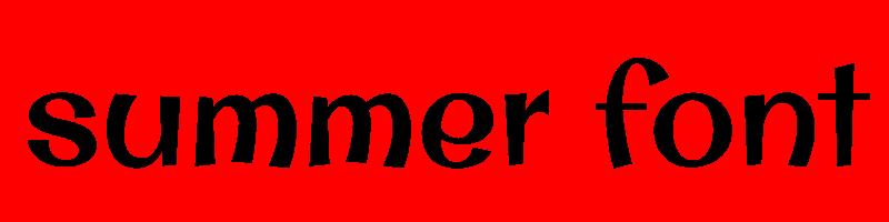 線上夏天字體轉換器,快速將英文字轉換成英文夏天字體 ,系統支援WIN+MAC蘋果系統