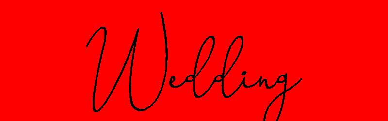 英文婚禮字體