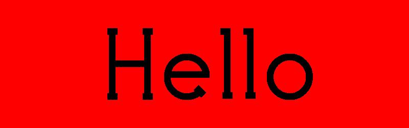 英文標題字體
