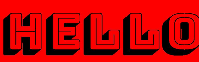 英文海報字體