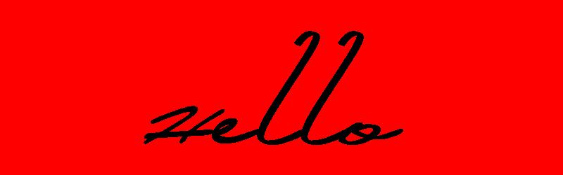 英文草寫字體
